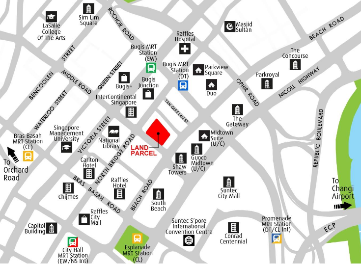 URA releases sale sites at Dairy Farm Walk, Sims Drive, Middle Road and Tan Quee Lan Street